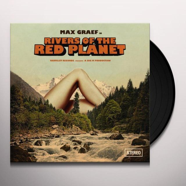 Max Graef RIVERS OF THE RED PLANET (UK) (Vinyl)