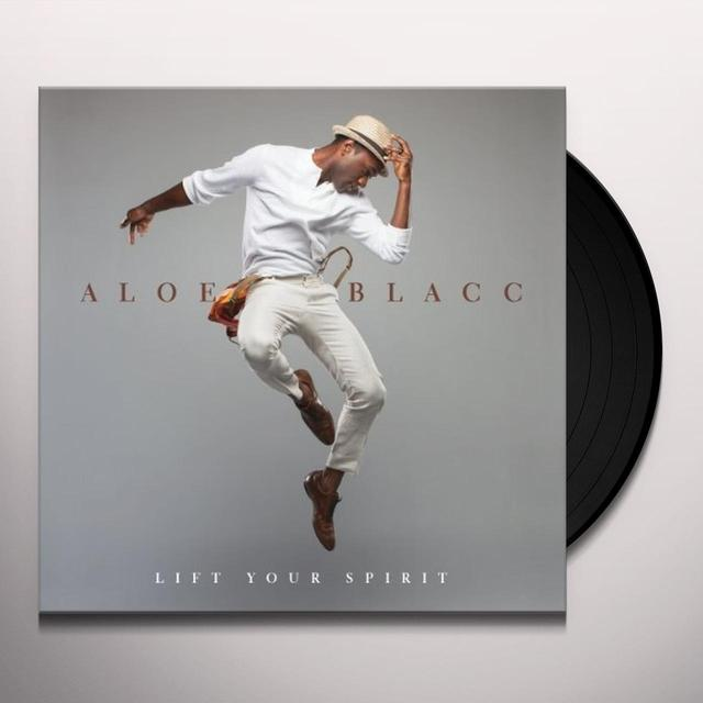 Aloe Blacc LIFT YOUR SPIRIT Vinyl Record