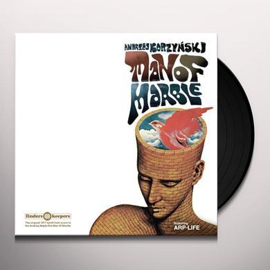 Andrzej Korzynski MAN OF MARBLE Vinyl Record - UK Import