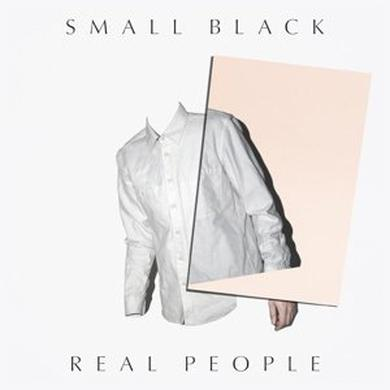 Small Black REAL PEOPLE Vinyl Record