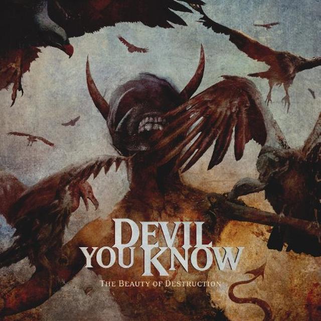 Devil You Know THE BEAUTY OF DESTRUCTION Vinyl Record - UK Import