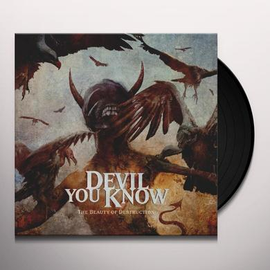 Devil You Know THE BEAUTY OF DESTRUCTION Vinyl Record - UK Import