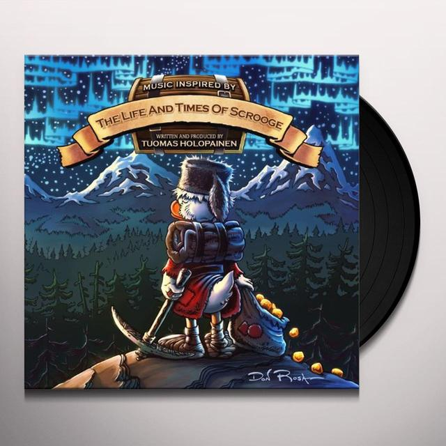 Tuomas Holopainen LIFE & TIMES OF SCROOGE Vinyl Record - UK Release