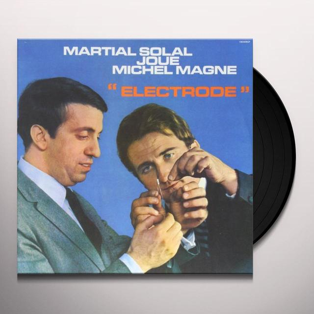 Martial Solal Joue Michel Magne ELECTRODE Vinyl Record