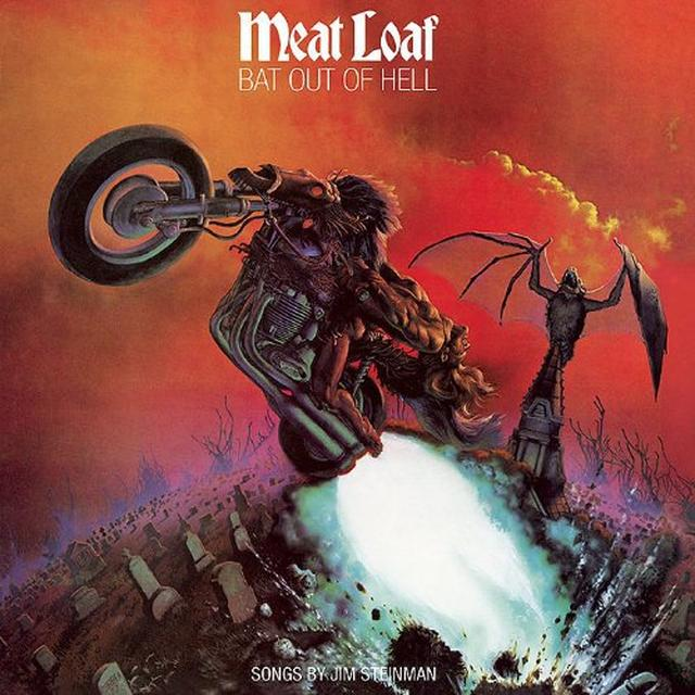 Meat Loaf BAT OUT OF HELL Vinyl Record - Holland Import