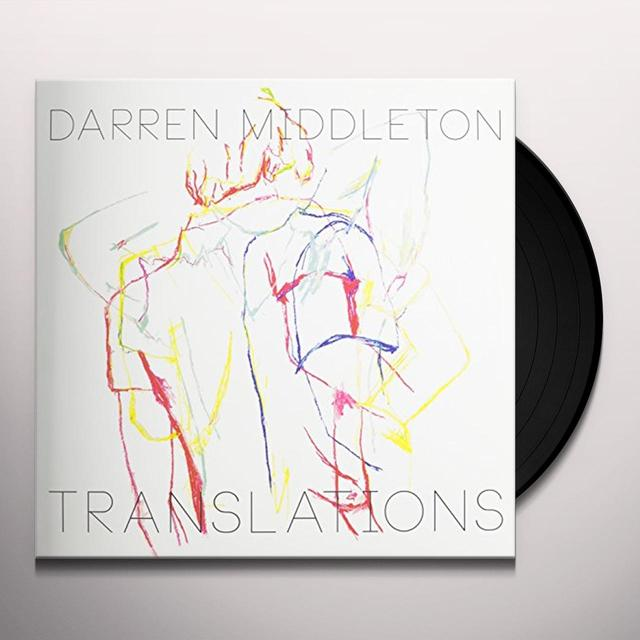 Darren Middleton TRANSLATIONS Vinyl Record