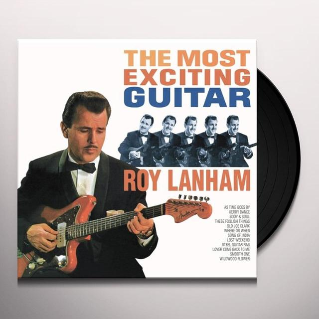 Roy Lanham MOST EXCITING GUITAR (GER) Vinyl Record