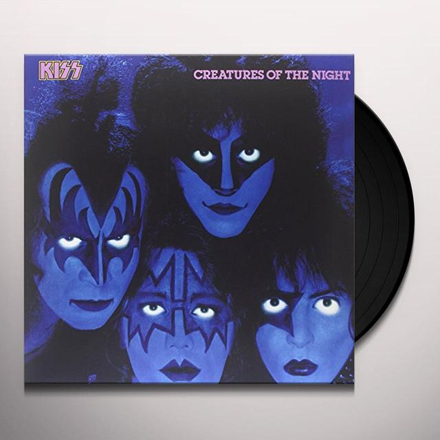 Kiss CREATURES OF THE NIGHT Vinyl Record