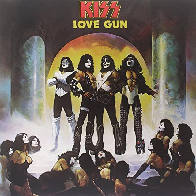 Kiss LOVE GUN Vinyl Record