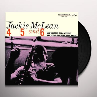 Jackie Mclean 4 5 & 6 Vinyl Record