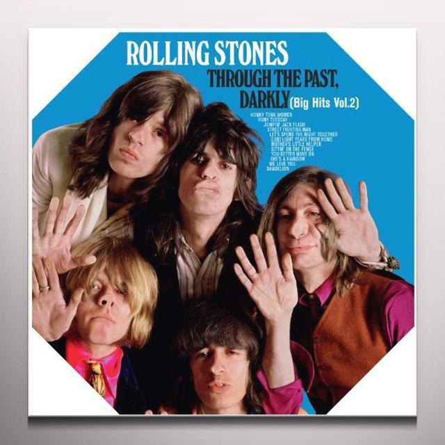 The Rolling Stones THROUGH THE PAST DARKLY (BIG HITS VOL 2) Vinyl Record - Clear Vinyl