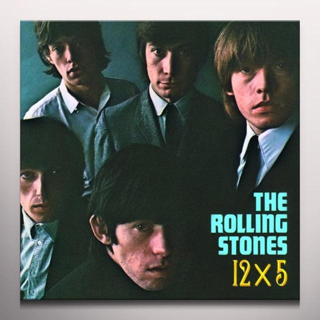 The Rolling Stones 12 X 5 Vinyl Record - Clear Vinyl, 180 Gram Pressing