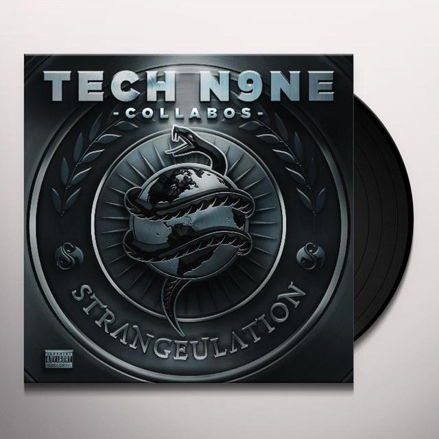 Tech N9Ne Collabos STRANGEULATION Vinyl Record - Gatefold Sleeve