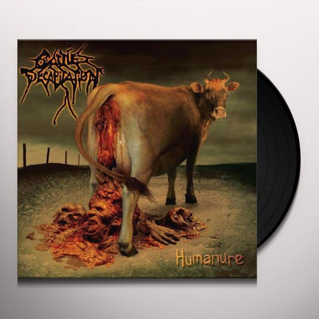 Cattle Decapitation HUMANURE Vinyl Record