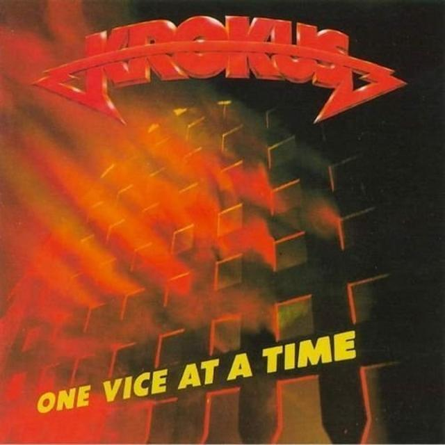 Krokus ONE VICE AT A TIME Vinyl Record - Limited Edition, 180 Gram Pressing