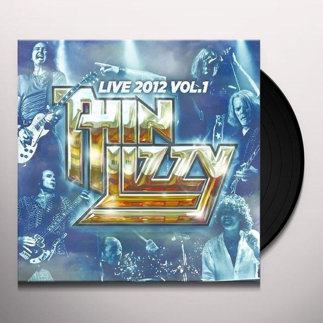 Thin Lizzy LIVE 2012 V1 Vinyl Record - Limited Edition, 180 Gram Pressing