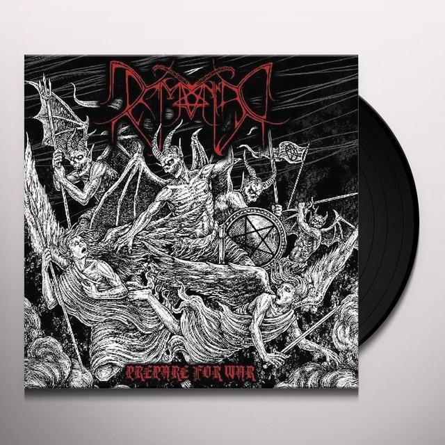 Demoniac PREPARE FOR WAR Vinyl Record