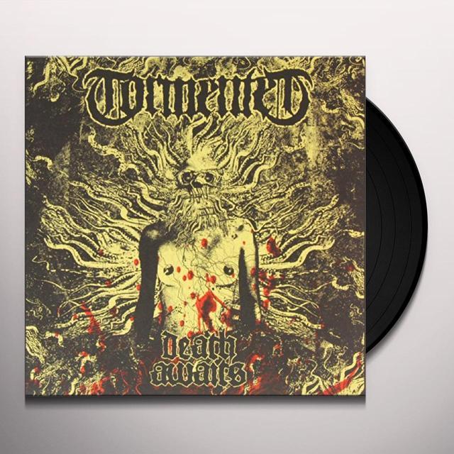 Tormented DEATH AWAITS Vinyl Record