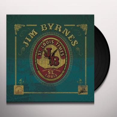 Jim Byrnes ST LOUIS TIMES Vinyl Record