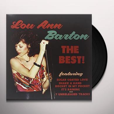 Lou Ann Barton BEST! Vinyl Record