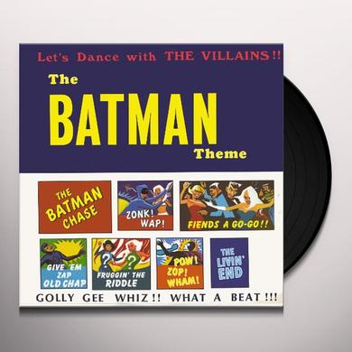 Batman Theme DANCE WITH THE VILLAINS Vinyl Record
