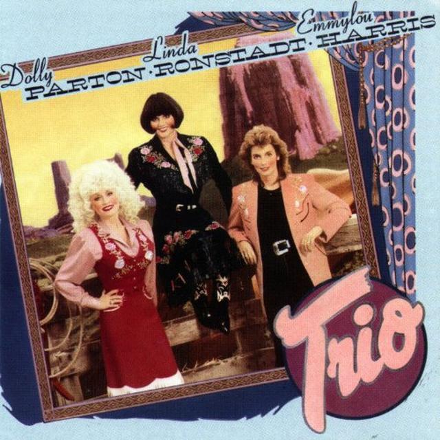Dolly Parton & Linda Ronstadt  TRIO Vinyl Record
