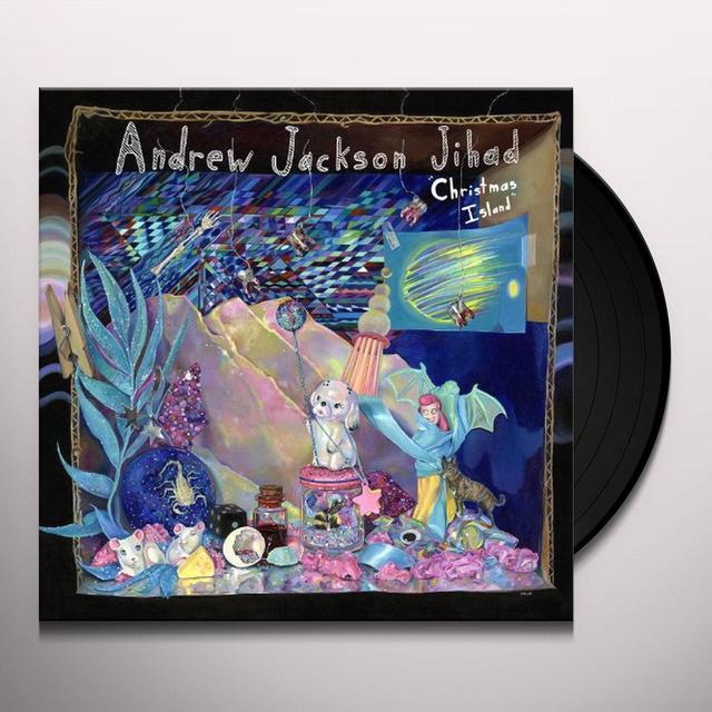 Adnrew Jackson Jihad CHRISTMAS ISLAND Vinyl Record - Gatefold Sleeve, Digital Download Included
