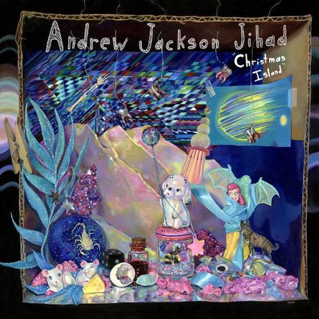 Adnrew Jackson Jihad CHRISTMAS ISLAND Vinyl Record