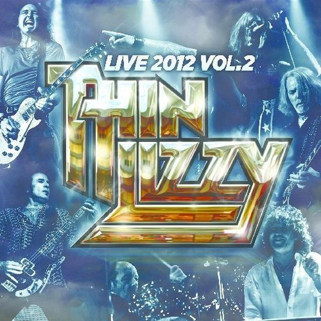 Thin Lizzy LIVE 2012 V2 Vinyl Record - Limited Edition, 180 Gram Pressing