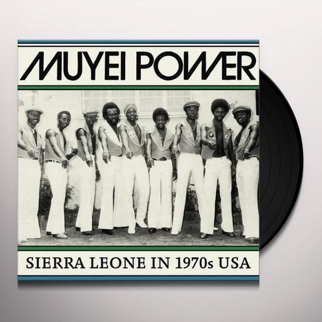 Muyei Power SIERRE LEONE IN 1970S USA Vinyl Record