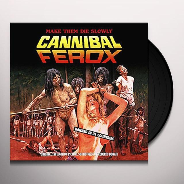 Robert (Gate) (Ltd) Donati CANNIBAL FEROX / O.S.T Vinyl Record - Gatefold Sleeve, Limited Edition
