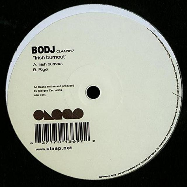 Bodj IRISH BURNOUT Vinyl Record