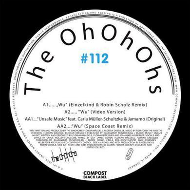 Ohohohs COMPOST BLACK LABEL 112 Vinyl Record