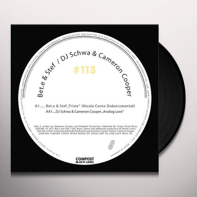 Bet E & Stef / Dj Schwa & Cameron Cooper COMPOST BLACK LABEL 113 Vinyl Record