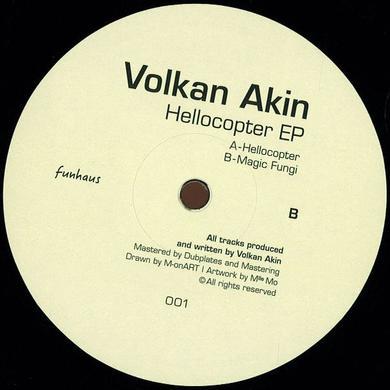 Volkan Akin HELLOCOPTER Vinyl Record