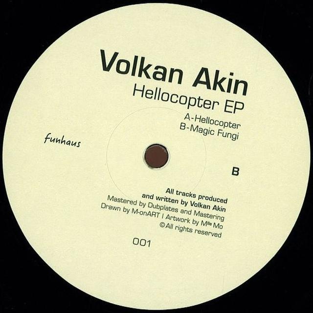 Volkan Akin HELLOCOPTER (EP) Vinyl Record