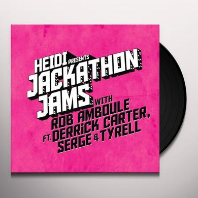 HEIDI PRESENTS JACKATHON JAMS WITH ROB AMBOULE Vinyl Record