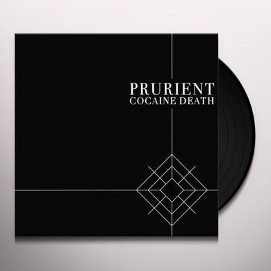 Prurient COCAINE DEATH Vinyl Record