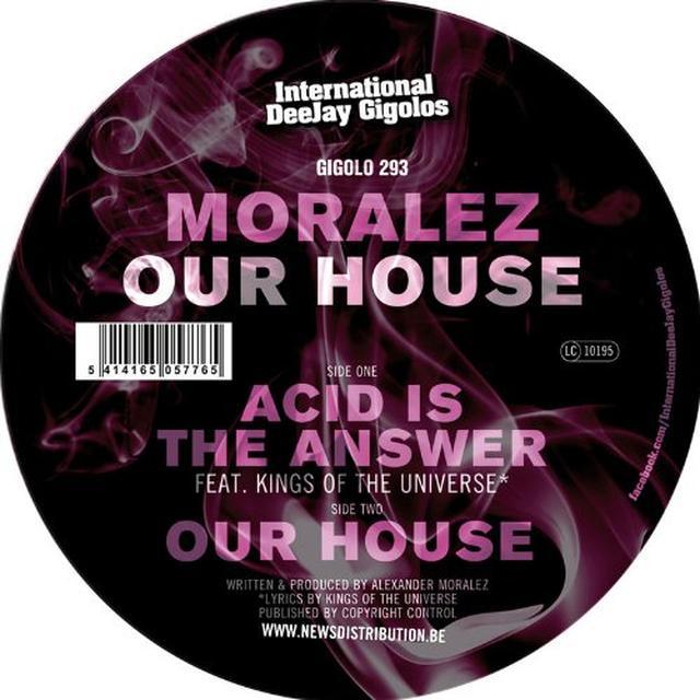 Moralez OUR HOUSE Vinyl Record