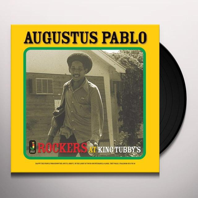 Augustus Pablo ROCKERS AT KING TUBBYS Vinyl Record