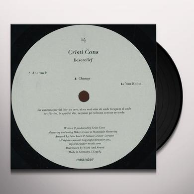Cristi Cons BASORELIEF Vinyl Record