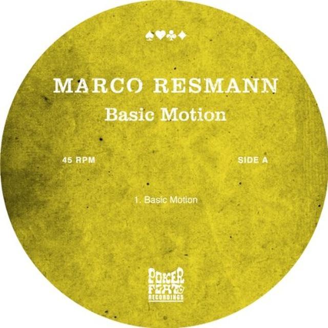 Marco Resmann BASIC MOTION Vinyl Record