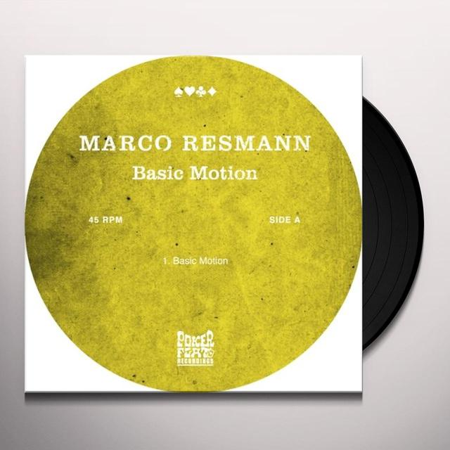 Marco Resmann BASIC MOTION Vinyl Record