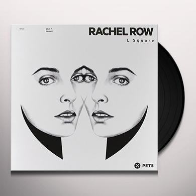 Rachel Row L SQUARE Vinyl Record