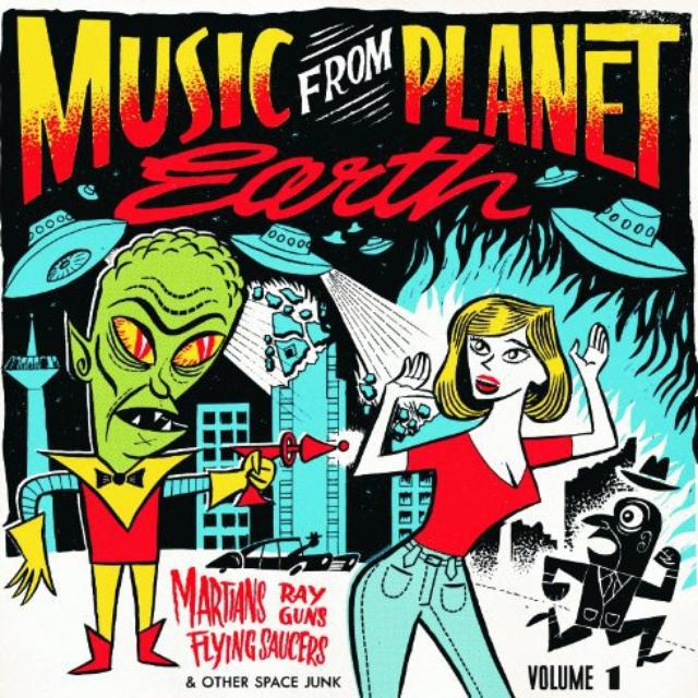Music From Planet Earth 1: Martians / Var