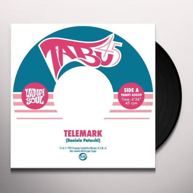 Daniele Patucchi TELEMARK / RED LAMP Vinyl Record