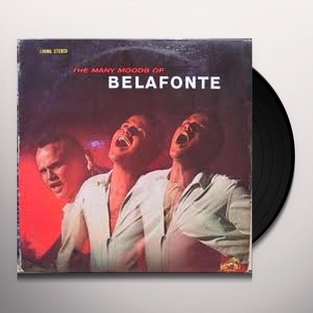 Harry Belafonte MANY MOODS OF BELAFONTE Vinyl Record