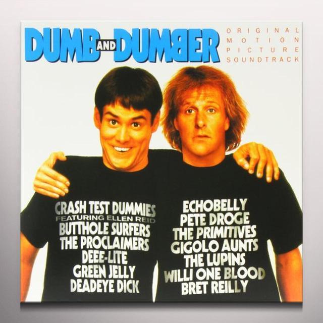Dumb & Dumber / O.S.T. (Wht) (Ogv) DUMB & DUMBER / O.S.T. Vinyl Record - 180 Gram Pressing, White Vinyl