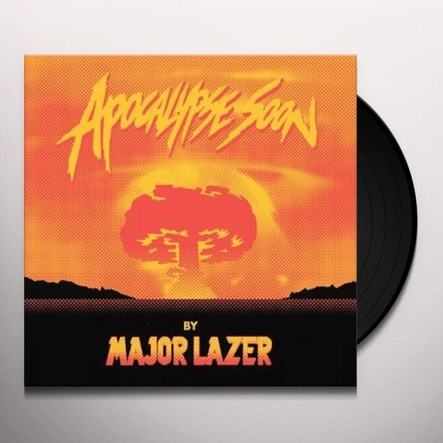 Major Lazer APOCALYPSE SOON Vinyl Record