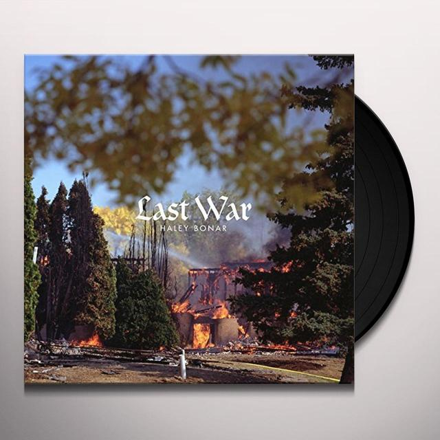 Haley Bonar LAST WAR Vinyl Record